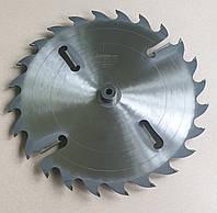 Пили дискові 550х50х28 з твердосплавними пластинами та розклинюючими ножами
