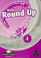 Round-Up 4 New Teacher's Book with Audio CD (книга вчителя)