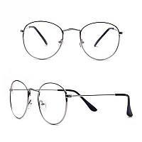 Іміджеві окуляри сріблясті