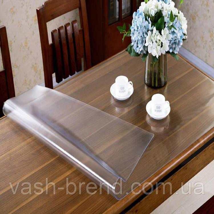 М'яке скло на стіл скатертину силіконова товщ. 1 мм. Туреччина