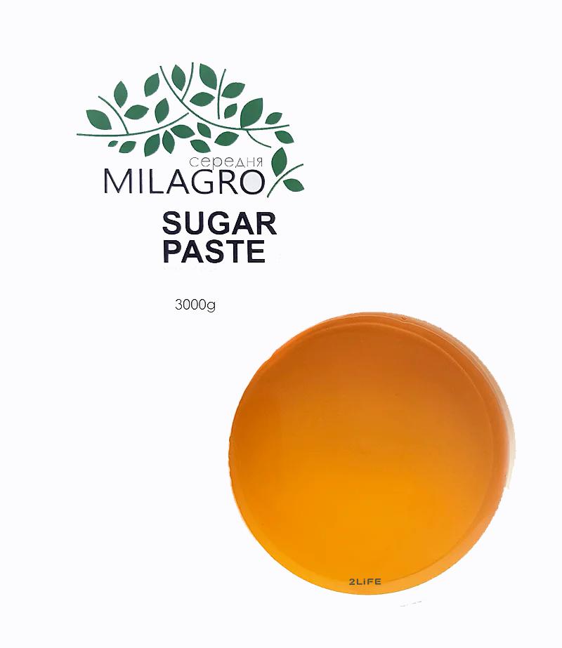 Сахарная паста для шугаринга Milagro Средней жесткости 3000 г (n-164)