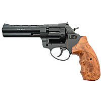 "Револьвер флобера STALKER S 4 мм 4,5"" коричн. рук.(силумин.барабан)"