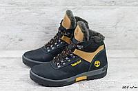 Мужские кожаные зимние ботинки Timderlеnd, фото 1