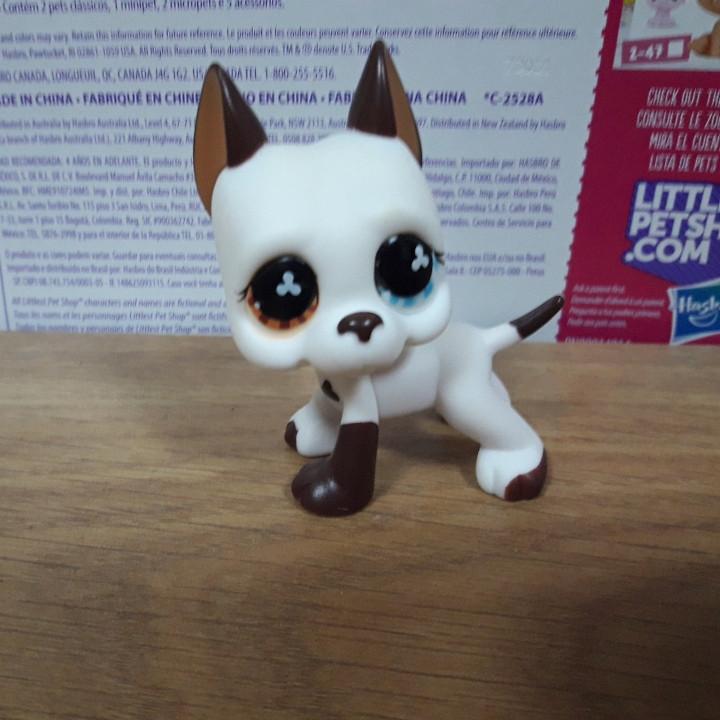 Lps littlest pet shop стоячки - лпс дог Hasbro # 577 -старая коллекция