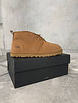 Мужские зимние ботинки UGG Brown (коричневые), фото 3