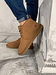 Мужские зимние ботинки UGG Brown (коричневые), фото 8