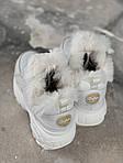 Женские зимние ботинки Buffalo (белые), фото 2