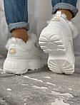 Женские зимние ботинки Buffalo (белые), фото 4