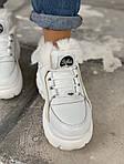 Женские зимние ботинки Buffalo (белые), фото 7