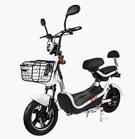 Электрический скутер CITY 350W/48V Белый, фото 1