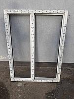 """Оконные рамы (окна) 5-камерные из немецкого профиля Brugmann 1000*1170 мм, ламинация - """"Золотой дуб"""""""