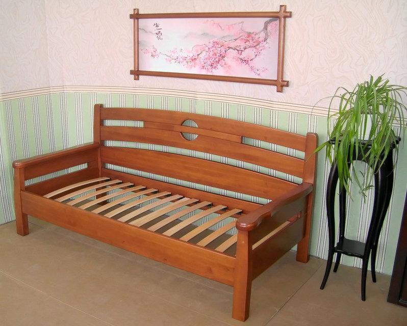 Диван деревянный КРОВАТЬ Центр Луи Дюпон ольха