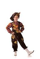 Детский карнавальный костюм для мальчика «Лесовичок» 110-120 см, коричневый