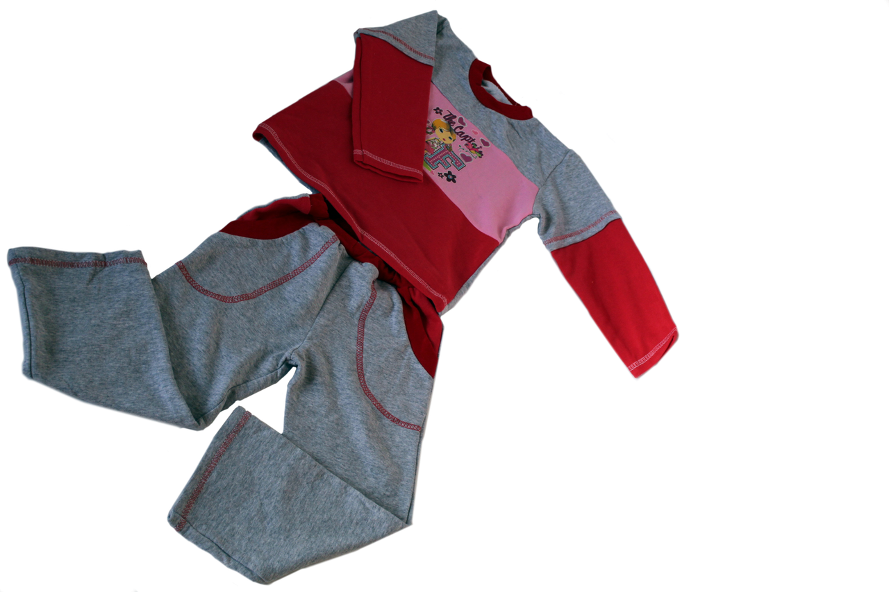 Костюм слип детский футер хлопок, на возраст 2-3 года