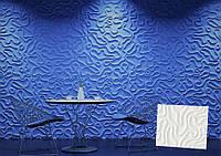 """Гипсовая 3d панель для стен """"Айка"""" (декоративная стеновая 3д панель)"""