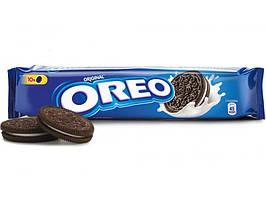 Печенье Oreo (Орео) с какао и кремовой начинкой ванильного вкуса 95 гр