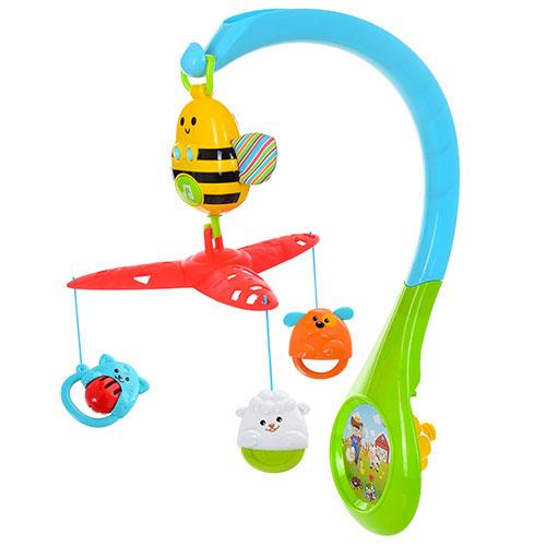 Мобиль WinFun Busy Bee 0856-NL карусель на детскую кроватку музыкальная