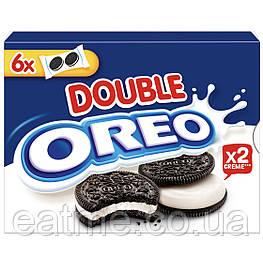 Oreo Double Шоколадное печенье с двойной молочной начинкой