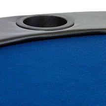 Складной покерный стол Pro Poker Compact 208х106х3 см Синий (830893), фото 3