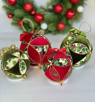 Набор елочных шаров Подарок Санты