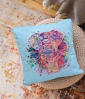 Набор-подушка для вышивки крестом Слон (30 х 30 см) Абрис Арт AHP-001