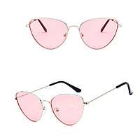 Іміджеві окуляри лисички рожеві