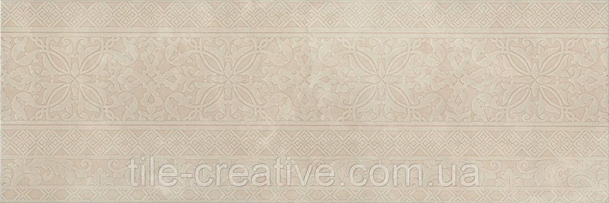 Керамическая плитка Декор Каталунья беж обрезной30x89,5x11 13090R\3F