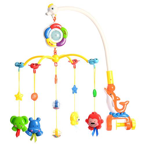 Функциональная детская карусель M 1363 U/R таймер регулируемый уровень громкости подсветка