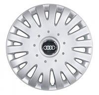 "Колпаки для колес 14"" c логотипом автомобиля 4 шт (SKS 211) Audi"