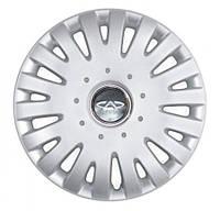 """Колпаки для колес 14"""" c логотипом автомобиля 4 шт (SKS 211) Chery"""