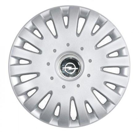 "Колпаки для колес 14"" c логотипом автомобиля 4 шт (SKS 211) Опель"