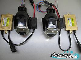Лінзи. Фари додаткового світла. AS612+ блоки розпалу + лампи -Повний комплект!!!