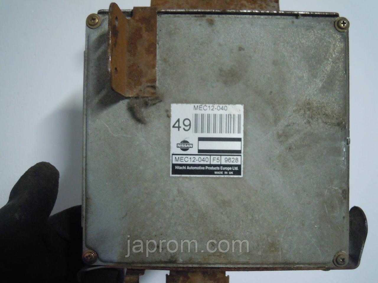 Блок управления двигателем Nissan Primera P11 1999-2002.в  2,0 бензин РЕСТАЙЛ MEC12-040