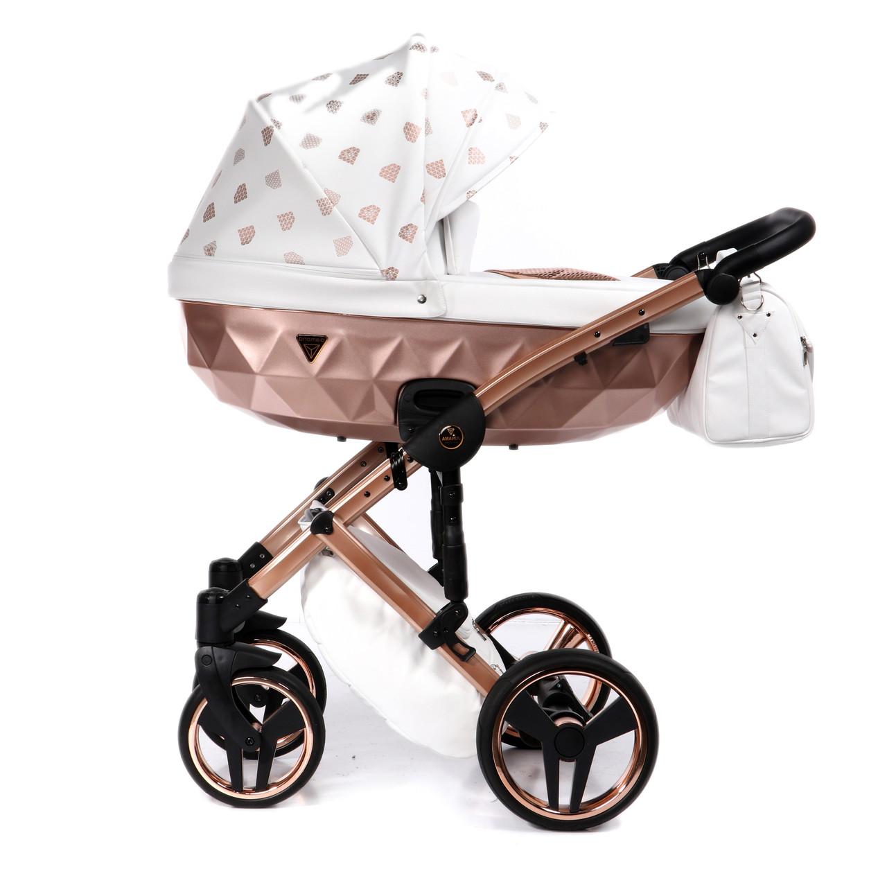 Детская универсальная коляска 2 в 1 Junama Glow 01
