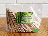 Шпажка бамбуковая весло 15 см, 100 шт