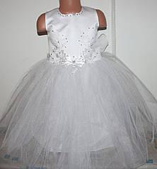 Новогоднее платье 4-7 лет (без шнуровки на молнии)