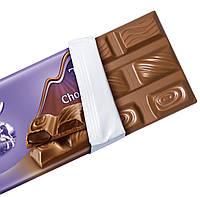 Milka Triple Choco Kakao Молочный шоколад с тремя видами начинки: жидкий шоколад, шоколадный мусс и кусочки, фото 2