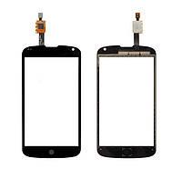 Сенсор (Тачскрин) для LG E960 | Nexus 4 (Черный) Оригинал Китай