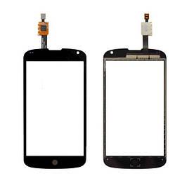 Сенсор (Тачскрин) для LG E960   Nexus 4 (Черный) Оригинал Китай