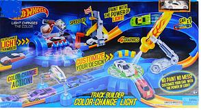 Трек запуск Hot Wheels Хотвилс Автотрек 7911 машинка меняет цвет, фото 2