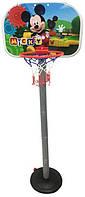 Баскетбольное Кольцо на Стойке Микки Маус, фото 1
