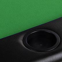 Складной покерный стол Pro Poker Compact 122x122x76 см Зеленый (830897), фото 2