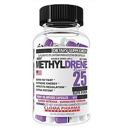 Жироспалювач Methyldrene 25 Elite Cloma Pharma 100 капсул