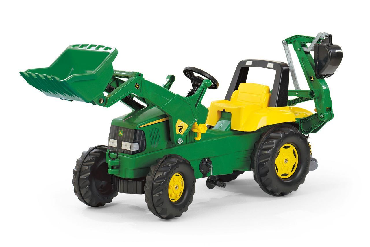 Трактор з ковшом Junior John Deere Rolly Toys 811076