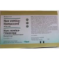 Heel Нукс Вомика Гомаккорд (Nux vomica-Homaccord), 1амп.х 5 мл