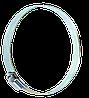 Хомут металевий 100-120