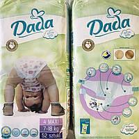 Dada Extra soft р.4/52шт. дада экстра софт подгузники для детей