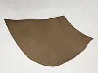Кожа натуральная для рукоделия Коричневая 24*14см, №104, фото 1