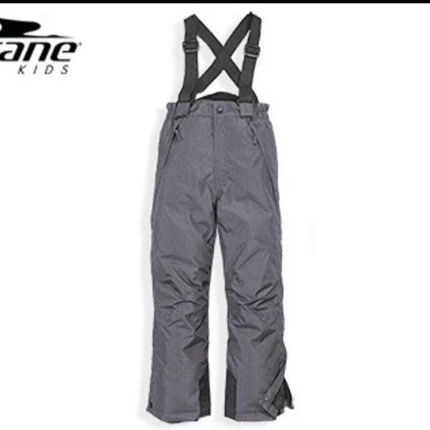 Зимние лыжные серые штаны CRANE р.110/116