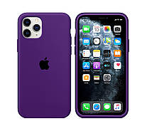 Чехол накладка xCase для iPhone 11 Pro Silicone Case  purple